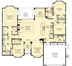 Spacious House Plans by Plan W33074zr Spacious Open Floor Plan E Architectural Design