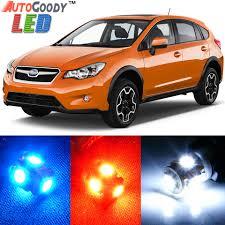 premium interior led lights package upgrade for subaru xv
