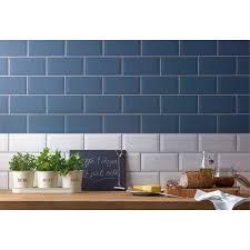 metro white wall tile 25 pack at homebase co uk