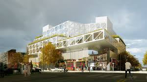 100 Cantilever House Renderings Revealed For King ODAs Bushwick Hotel