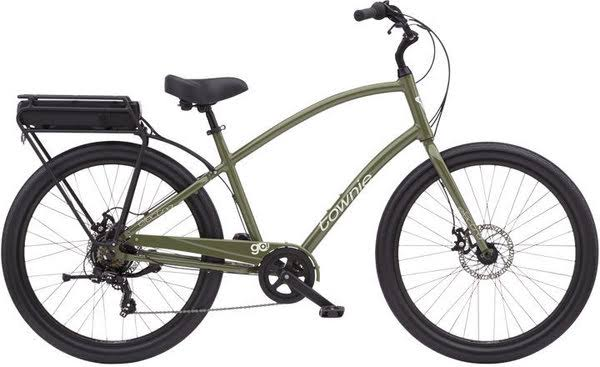 Electra Townie Go! 7D Olive / Step Over
