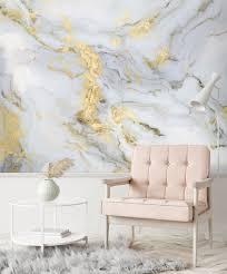 tapete marmor gold grau tapete grau tapeten wohnzimmer