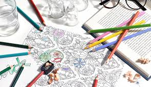 We Explore The Trend In Adult Colouring Books And Secret Gardens Johanna Basford Gives Her Top Five Tips On