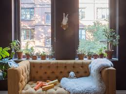 Crate And Barrel Margot Sofa by The Craftsman Made Nyc Apartment Workstead Edition Remodelista
