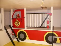100 Fire Truck Loft Bed Nonbed Fire Truck Loft But COULD Do It As A Bed Lol Home