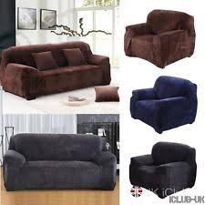 Sofa Slip Covers Uk by Velvet Sofa Armchair U0026 Suite Slip Covers Ebay