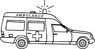 Coloriage Ambulance En Ligne Coloriage Ambulance Samu Imprimer