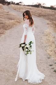 Rustic Themed Wedding Dresses
