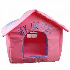 hundehütte hundebett mulitcolour pink wasser abweisend einzelstück 40