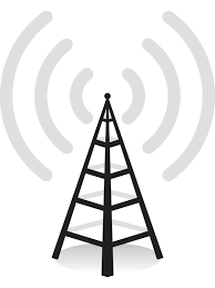 cell phone tower icon clipart
