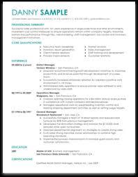 Resume Builder Design Templates