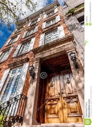 100 Townhouse Manhattan Chelsea New York City Stock Image