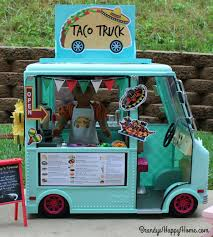 100 Mexican Food Truck Doll Taco AG Crafts Doll Food American Girl Diy Barbie Food