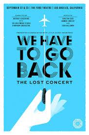 Wehavetogoback Fullposter Concert Posters Design Ideas And Inspiration