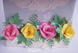 Punch Craft Paper Flowers