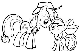 My Little Pony Princess AppleJack And Baby