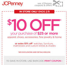 New JCPenney $10 Off $25 Printable Coupon, Ends Feb. 8 - Al.com Jcpenney Coupons 10 Off 25 Or More Jc Penneys Coupons Printable Db 2016 Grand Casino Hinckley Buffet Hktvmall Coupon 15 Best Jcpenney Black Friday Deals For 2019 Additional 20 80 Clearance With This Customer Service Email Coupon Code 2013 How To Use Promo Codes And Jcpenneycom N Deal Code Fonts Com Hell Creek Suspension House Of Rana