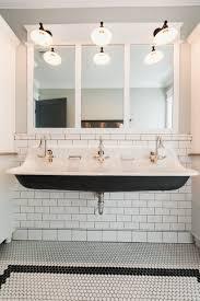 Horse Water Trough Bathtub by Trough Bathroom Sink Lyndon 33 Inch Wallhung Trough Bathroom Sink