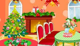jeu de décoration de noël gratuit jeux 2 filles