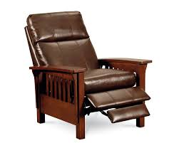 Stickley Furniture Leather Recliner by Mission High Leg Recliner Recliners Lane Furniture Lane