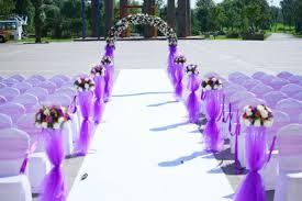 Pinkog Common Outdoor Wedding Ceremony Decorations Ideas