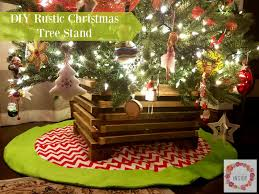I Came Up With Two Projects Then It Hit Me Why Not Make A Cool Christmas Tree Stand Using This Is What Travis And Created For