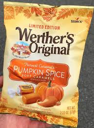 Pumpkin Spice Pringles 2017 by Limited Edition Werther U0027s Original Pumpkin Spice Soft Caramels