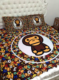 online shop shop 2013 bape chocolate 100 cotton fitted sheet