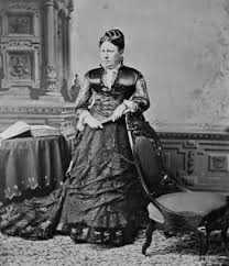 First Lady Julia Dent Grant In The White House