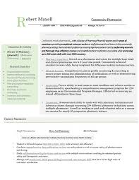 Latest Resume Examples Outpatient Pharmacist Example See More Clinical Retail Informatics