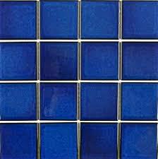 3x3 Blue Ceramic Tile by 3x3 Pool Tile Ctileplusonline Com