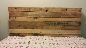DIY Upcycled Pallet Headboard Ideas