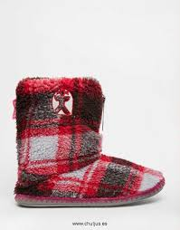Bedroom Athletics Slippers by Athletics Macgraw Pink Check Slipper Botas