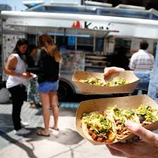 Best Food Trucks In Los Angeles | Travel + Leisure Where Do Food Trucks Go At Night Street For Haiti Roaming Hunger Paradise Truck Los Angeles Catering Jim Dow Tacos Jessica Taco East California 2009 The Best Food Trucks In City Cooks Up Plan To Help Restaurants Park Labrea News Beverly Miami 82012 Update Roadfoodcom Discussion Board Book A Rickys Fish Fashionista 365 Los Angeles 241 Lots Of Cart Best Resource Condiments From Taco Truck Stock Photo 49394118