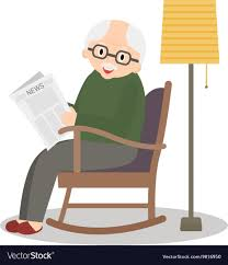 Grandfather Sitting In Rocking Chair Old Man Rocking In A Chair Stock Illustration Black Woman Relaxing Amazoncom Rxyrocking Chair Cartoon Trojan Child Clipart Transparent Background With Sign Rocking In Cartoon Living Room Vector Wooden Table Ftestickers Rockingchair Plant Granny A Cartoons House Oriu007 Of Stock Vector Bamboo Png Download 27432937 Free
