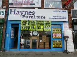 Haynes Furniture on Sheaf Lane Furnishers in Sheldon Birmingham