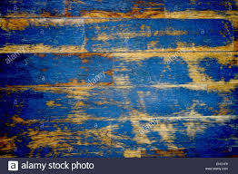Wood Texture Material With Blue Vintage Colors