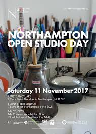 100 Hope Street Studios Open Studio Event 11th Nov 2017 Minnie Teckman Fine Art