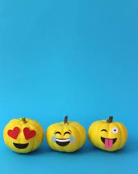 Emoji Pumpkin Carving Designs by No Carve Pumpkin Ideas Jane Can