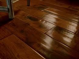 Spectacular Brown Gloss Subway Patterns Vinyl Plank Flooring For