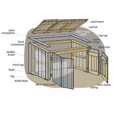 how to build a trash shed flipping illustrations and doors