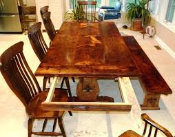 Wood Dinner Comely Table And Extraordinary Solid Dining With Leaf Architects On At Two Leaves Home Design Extension Hardware Com