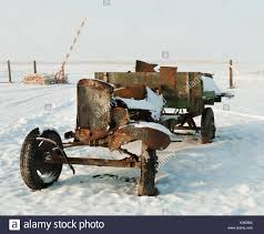 100 Burnt Truck World War II Old Soviet Army Truck Of WWII Outdoors At
