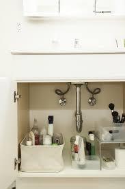 Pedestal Sink Storage Solutions by Under The Bathroom Sink Organizer
