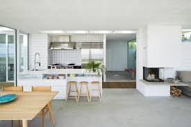 wohnzimmer mit offener küche casaomnia