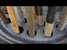 Turn a Rain Barrel Into Simple Yard Tool Storage