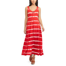 chaps seashell maxi dress
