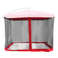 cheap offset umbrella with netting find offset umbrella with