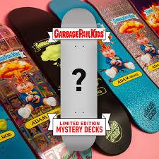 100 Ccs Decks Santa Cruz X Garbage Pail Kids Blind Bag Skateboard Deck