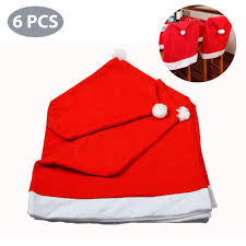 6 Pcs Christmas Decorations Chair Covers Toulifly Christmas ... Christmas Decoration Chair Covers Ding Seat Sleapcovers Tree Home Party Decor Couch Slip Wedding Table Linens From Waxiaofeng806 542 Details About Stretch Spandex Slipcover Room Banquet Dcor Cover Universal Space Makeover 2 Pc In 2019 Garden Slipcovers Whosale Black White For Hotel Linen Sofa Seater Protector Washable Tulle Ideas Chair Ab Crew Fabric For Restaurant Usehigh Backpurple